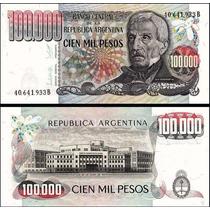 Argentina 100000 Pesos 1979 P. 308b Fe Cédula - Tchequito