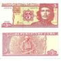 Cuba 2004 Cédula 3 Pesos Che Guevara Flor De Estampa