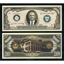 Usa Md-164 Fe 1 Milhão De Dólares George W Bush * Q J *