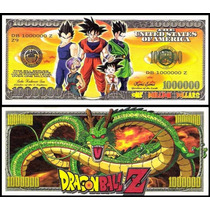 United States Md-134 Fe 1 Milhão De Dólares Dragon Ball Z