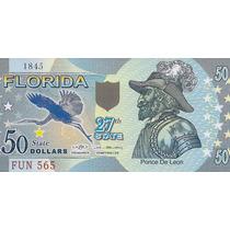 Estados Unidos - Florida - 50 Dolares - Polímero - Baoba2012