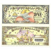 Usa, Cedula De 1 Disney Dolar (fantasia), 2005, Fe- Dumbo -