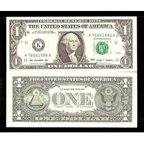 Estados Unidos 1 Dolar 2009 P.530 Fe Cédula Let. K Tchequito