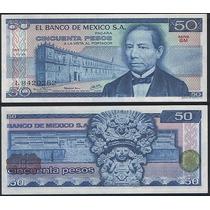 Mexico P-65c Fe 50 Pesos 1978 * Q J *