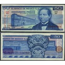 Mexico P-65b Fe 50 Pesos 1976 * Q J *