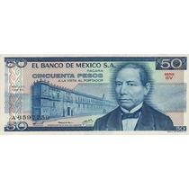 Mexico P-67a Fe 50 Pesos 1978 * Q J *