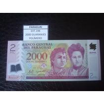 (ext.196) Paraguay - 2000 Guaranies - Polimero - Fe