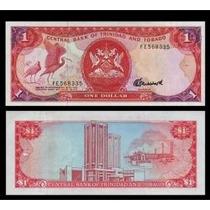 Trinidad E Tobago 1 Dollar 1985 P. 36a Fe Cédula - Tchequito