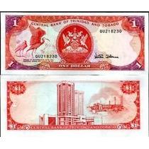 Trinidad & Tobago P-36d Fe 1 Dollar Nd (1985) * Q J *