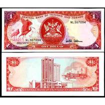 Trinidad & Tobago P-36c Fe 1 Dollar Nd (1985) * Q J *