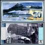 Antarctica 20 Dollars Spécimen Fe 2001 * Q J *