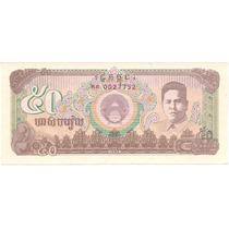 Linda Cédula Camboja 50 Riels - F E