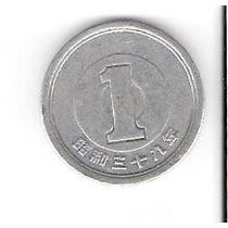 Linda Moeda Alumínio Do Japão 1 Yen. Vejam A Foto !!!