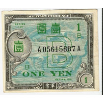 Cédula Japão 1 Yen 1944-45 Sob/fe