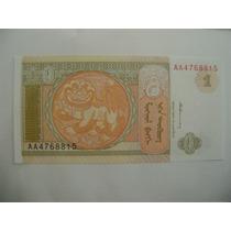 Rb2728 - 4 Cédulas Mongólia 1 Tugrik 50 20 10 Mong Fe Flor
