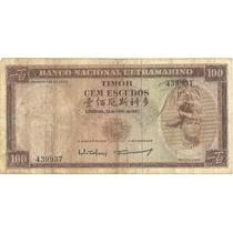 100 Escudos - Timor - Circulada