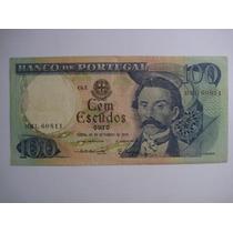 Portugal Cédula De 100 Escudos 1978 - Mbc