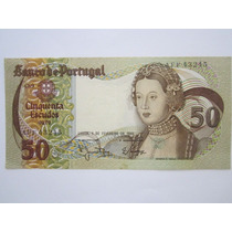 Portugal Cédula 50 Escudos 1980 Mbc+