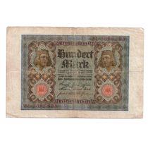 Cedula Estrangeira - Alemanha 100 Marcos - Mbc