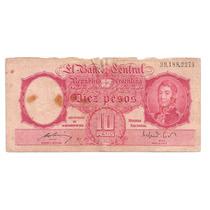 Cedula Estrangeira - Argentina 10 Pesos - Mbc