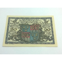 Cédula Alemanha Notegeld 20 Pfennige 1921 Lt0047