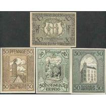 Germany Alemanha Triptis L-1313 S/fe 3 Notgelds 1921 * Q J
