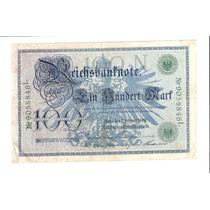 Linda Cédula Da Alemanha - 100 Marcos De 1918 !!!