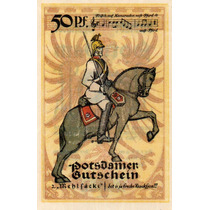 Cédulas Fe Alemanha Notgelds 1921 Postdam