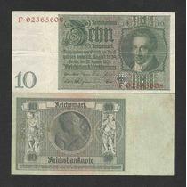 Alemanha 10 R. Marcos 1929 P. 180b Sob Cédula - Tchequito