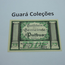 Cédula Notgeld 75 Pfennig 1922 - Lt0129