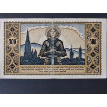 Alemanha Notgeld Freiburg 500 Mark 1922