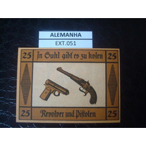 (ext.051) Alemanha - Notgeld - 25 Pfenning - Fe