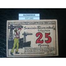 (ext.040) Alemanha - Notgeld - 25 Pfenning - 1921 - Fe