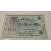 Cédula Da Alemanha De 100 Mark 1908