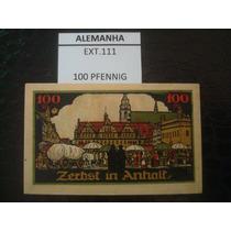 (ext.111) Alemanha - Notgeld - 100 Pfenning - 1921 - Fe