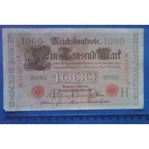 Cédula Alemã De 1910 - 1000 Marcos - Império Alemão