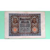 Alemanha 100 Marcos 1920 (mbc) - Frete Grátis