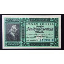 2534 - Antiga Cédula Da Alemanha 500.000 Mark 1923 Fe