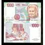 Itália 1000 Liras 1990 P. 114a Fe Cédula - Tchequito