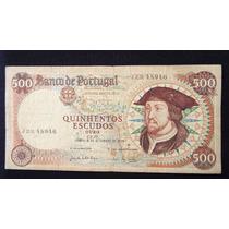 2462 - Cédula De Portugal 500 Escudos 1979 Mbc