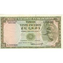 6493 - Timor - 20 Escudos Fe