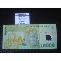 (ext.256) Romenia - 10.000 Lei - Ano 2000 - Polimero - Fe