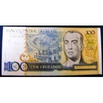 Cédula Brasil 100 Cruzados C187 (s)