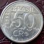 Moedas 50 Cruzeiros Reais, Ano 1994, Onça Pintada, Raridade