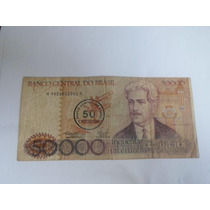 Cédula Antiga - Cinquenta Mil Cruzeiros