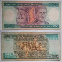 Cédula Nota 200 Duzentos Cruzeiros - Princesa Isabel