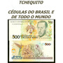 Brasil 500 Cruzados Novos C209 Fe Cédula - Tchequito