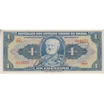 163 - 1 Um Cruzeiro Autografada Sob/fe R$ 9,00