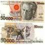 Cédula De Cinquenta Mil Cruzeiros