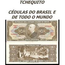 Brasil 5 Cruzeiros C074 S/fe Cédula - Tchequito